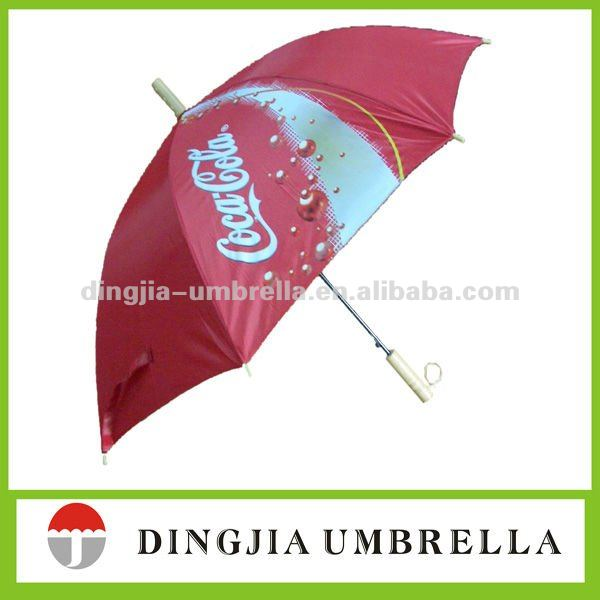 Brand Logo Printed Cane Umbrella for Promotion