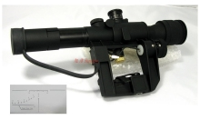Vector Optics Ausra SVD Dragunov 4x26E Riflescope