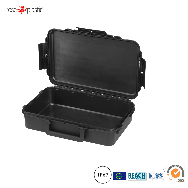 Strong hard waterproof dustproof plastic electronic device organ packaging case box RC-PS 195 L