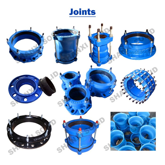 Ductile Iron Flexible Universal Pipe Coupling For Pipes