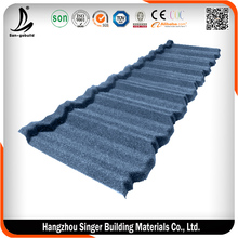 Sky Blue Steel ROOF shingle Modern Classical type