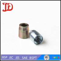 Hydraulic Metric or SAE Shell, Parts of Female Weld Rigid, Braided Hose Fittings