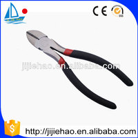 function of cutting plier with TPR handle/wire cut plier