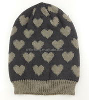 winter fashion lady beanies knit cap