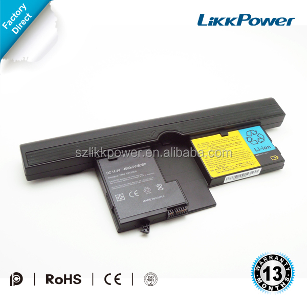 Laptop battery replacement for IBM ThinkPad X61 Tablet PC Series 40Y8314