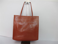 S302A-A4075-2015 hight quality fashion simple leather tote bags