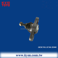 high quality 555 brand front axle lower ball joint 51760-2E000 for HYUNDAI