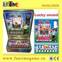 2016 Ghana lucky award High quality coin operated slot game machine for sale