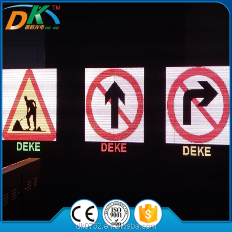 IP65 Outdoor P20 Traffic speed led screen display module,road safety display sign board