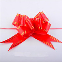 Cheap wedding gift wrapping 32mm butterfly pull bows for sale