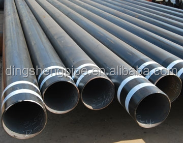 Electric-fusion-welded steel-plate pipe, Spiral submerged are welded pipe