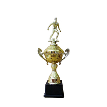 Plastic Football Sports Event Trophy Cups