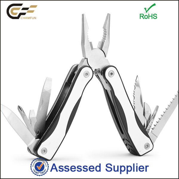 High quality stainless steel functional knife /opener /wire cutter/new keychain multi tool