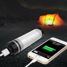 Free Sample Waterproof 60hrs Hunting Led Torch Flashlight 2600mA Small Battery Operated Rechargeable Led Flashlight