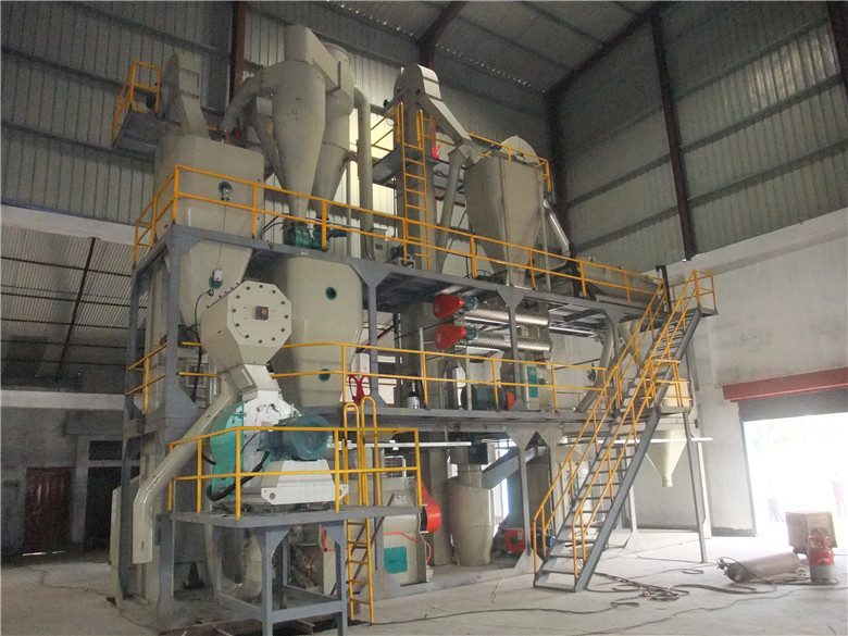 s top professional 3-5 t/h poultry / animal feed pellet line for sale