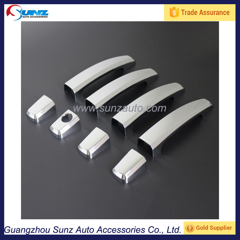 For Chevrolet Colorado 2012- High quality Accessories ABS Chrome auto Door Handle cover