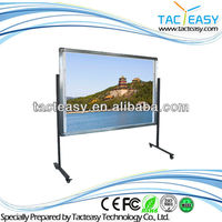 Portable Interactive white board Cheap IR Infrared sensor touch whiteboard