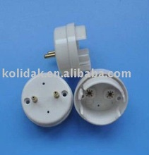 Magnetic white PC LH - T10-03 lamp holder