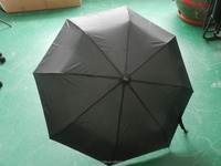 21 inch 8k high quality auto open and close strong wind-proof folding umbrella with logo customized