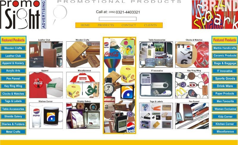 TABLE ACCESSORIES/ PROMOTIONAL PRODUCTS COMPANY