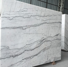 Cheap sale white marble slab, Guangxi white marble price per square meter