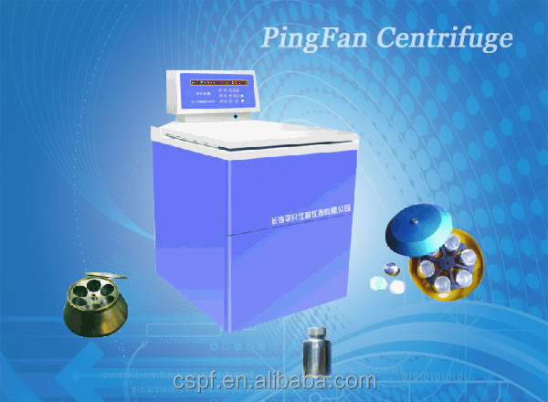 DL-7M floor type blood bag centrifuge / large capacity low speed blood bag refrigerated centrifuge with swing rotor 6*1000ML