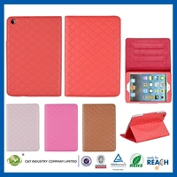 Multi function cheap protecting for ipad mini smart cover leather case stand shell