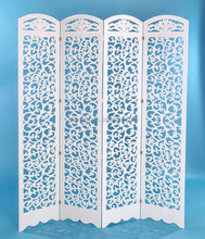 Factory direct wood carving folding screens fancy folding photo frame design room dividers