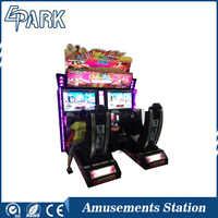 Indoor outrun 32 inch screen racing car simulator arcade game machine