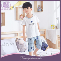 China Factory Selling Children Clothes Boys Summer Kids Pajamas For Children
