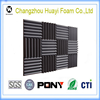 self adhesive acoustic wedge foam absorption soundproofing Tiles