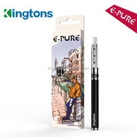 Gift packing 400mah E-pure refillable vaporizer pen, 800 puffs vaporizer pen wholesale hookah The E-Pure Starter Kit is one of