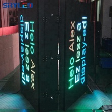SRY P10 outdoor two side led display double sided outdoor led open sign