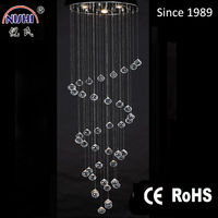 2015 Hot selling Crystal Ceiling LED Lamp for bedroom (NS-120118)