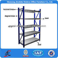Aliabab OEM Metal iron steel used library shelving from china