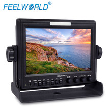 "7"" Camera Top Field IPS Screen 1280*800 High Resolution Bus TV Monitor with HDMI,SDI,Video,Audio Inputs"