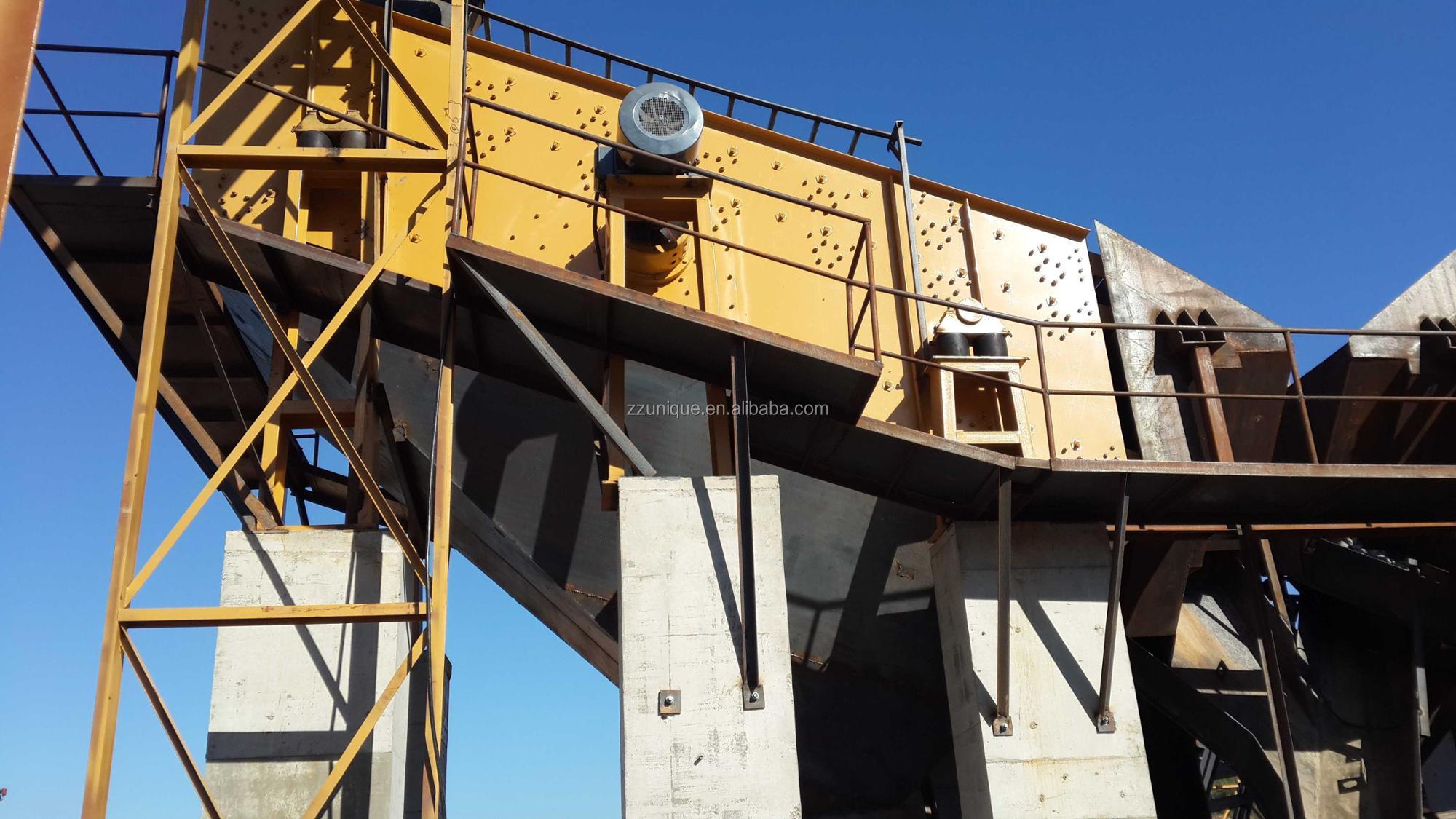500t/h aggregate production line 500 t / h