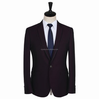 oem service customized design Italian style slim fit 2 pieces coat pant men's bespoke suit