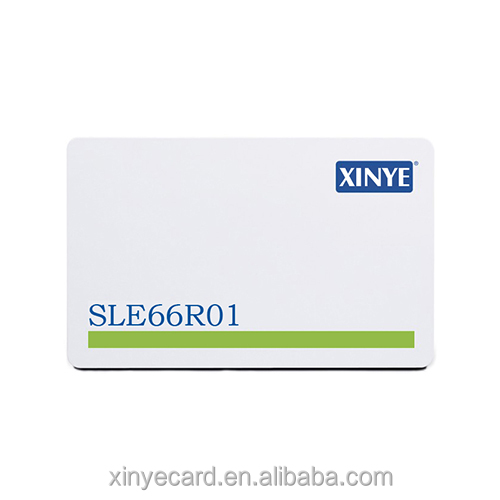 Printing pvc rfid blocking SLE 66R01(128B) card for protecting identity theft