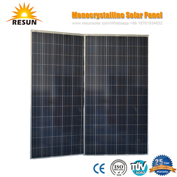RS6S series 300watt-325watt solar panel price list