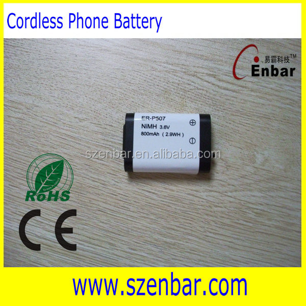 Hot sale Cordless Phone Battery 3.6v 800mah aaa size nimh battery pack