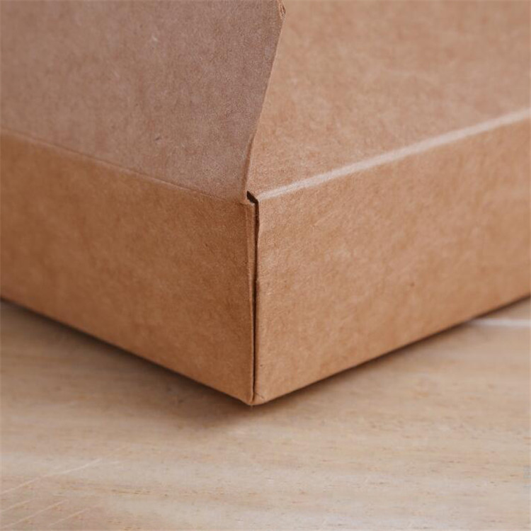Food grade kraft paper lunch box for packing