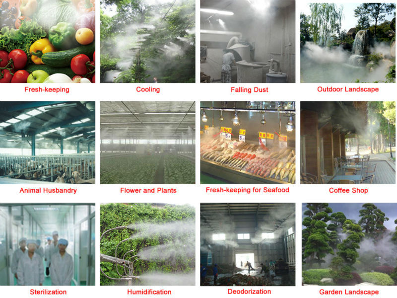 Water mist cooling system pump,electric pump,fine mist sprayer system