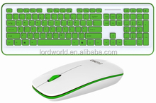 latest chocolate keycaps 2.4G wireless keyboard optical mouse wholesale