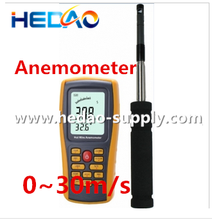 Hot wire anemometer wholesale bicycle car digital speed meter