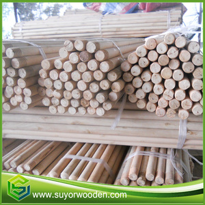 High quality natural engraved wood round sticks