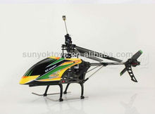 2013 new arrival!WL V912 middle 2.4G 4CH SINGAL BLADE RC helicopter with Gyro LCD transmitter