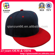2014 wholesale black cotton twill 3D embroidery plain cheap snapback cap