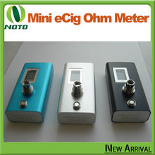 2014 NEW Mini digital Resistance ohm Meter for vaporizer and atomizer, digital cartomizer /atomizer resistance tester (ohm mete)