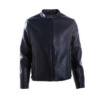European style Factory price pu lucky leather jacket